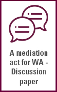 Link to the Mediation act for Western Australia